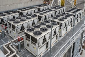 Multuple,Air,Cooled,Water,Chillers,Installation
